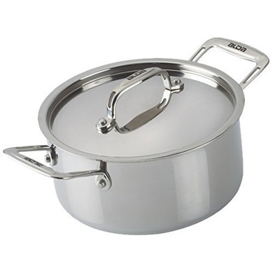 Alda Tri-Ply Stainless Steel Cook & Serve Casserole with Lid-6381
