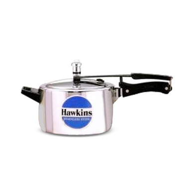Hawkins Stainless Steel Induction Pressure cooker, 4 Litre(B45)-5253