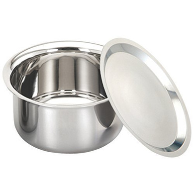 Alda Tri-Ply Stainless Steel Patilas with Lid-6392