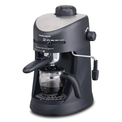 Morphy Richards New Europa Espresso and Cappuccino 4-Cup Coffee Maker-328