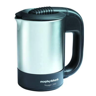 Morphy Richards Voyager 200 0.5-Litre Stainless Steel Electric Travel Kettle-335