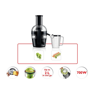 Philips HR1855 Viva Collection Juicer-700W-1