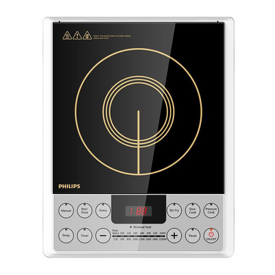 Philips HD4929 2100-Watt Induction Cooker-238