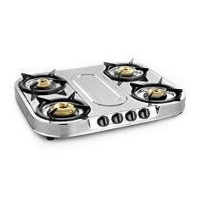 Sunflame Spectra Plus Stainless Steel 4-burner Cooktop-142