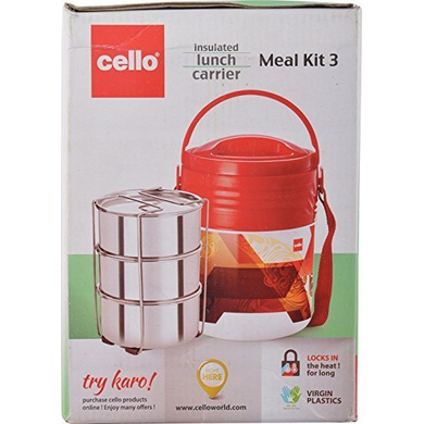 Cello Meal Kit Insulated Lunch Carrier-14401
