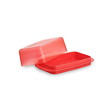 All Time Plastics Perfect Butter Dish Big Red-2