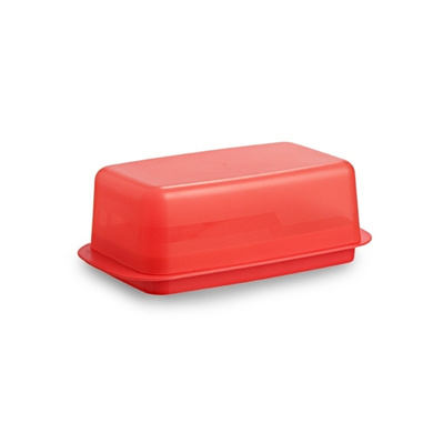 All Time Plastics Perfect Butter Dish Big Red-4384