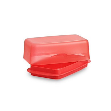 All Time Plastics Perfect Butter Dish Big Red-1
