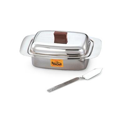 Amarjyoti Stainless Steel Butter Dish-9372