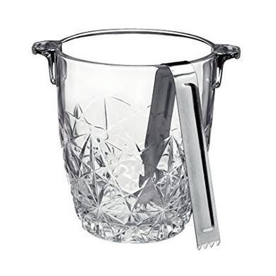 Bormioli Rocco Dedalo Ice Bucket with Tongs-10419