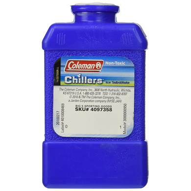 Coleman Chillers Day Pack Ice Substitute Small Hard (Blue)-12992