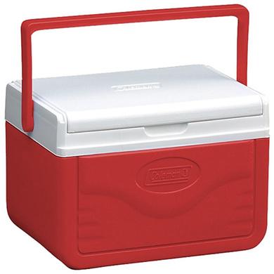 Coleman 5Qt/4.7 Liters Shield Cooler (Red)-5346