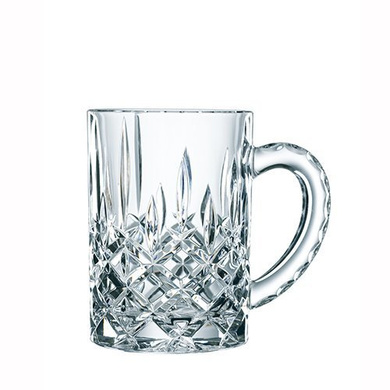 Nachtmann Noblesse Crystal Beer Mug, 600ml/9.9cm, Clear-9920