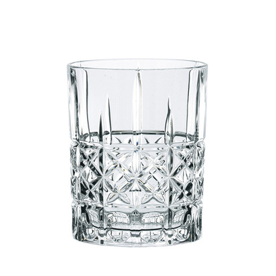 Nachtmann Highland Crystal Diamond Whisky Tumbler Set, 345ml/8.2cm, Set of 6pc-13374