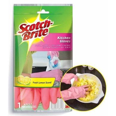 Scotch-Brite Kitchen Gloves-Medium-1