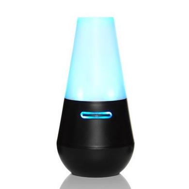 Madebyzen Ultrasonic Aroma Diffuser Enso Black Blue Light-9716