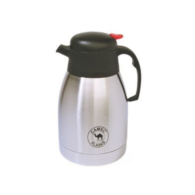 Camel Stainless Steel Vacuum Flask New Coffee / Tea Pot 2ltr (CP-200)-5736