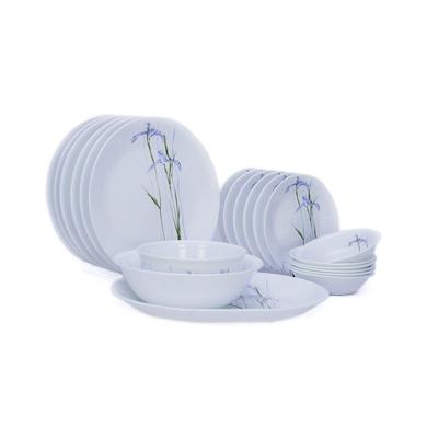 Corelle Asia Shadow Iris 21 Pcs Dinner Set-12900