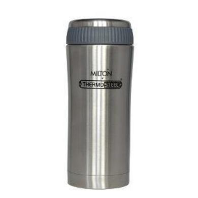 Milton Thermosteel Optima 500 Flask, Steel Plain-37438