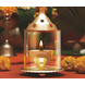 Borosil Akhand Diya (Small, Brass)-11811-sm
