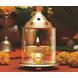 Borosil Akhand Diya (Medium, Brass)-11813-sm
