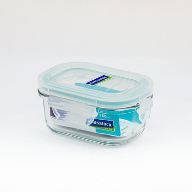 GLASSLOCK RECTANGLE CONTAINER 150ML-40336