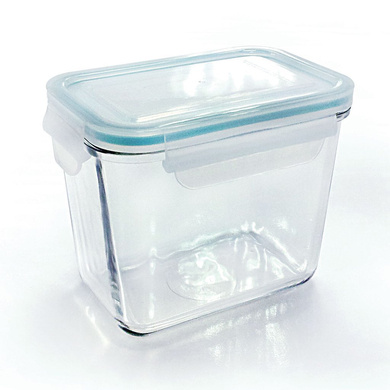 GLASSLOCK RECTANGLE CONTAINER 1000ML-40345