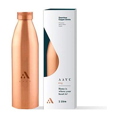 Aayu Copper Bottle (1000 ML)-2