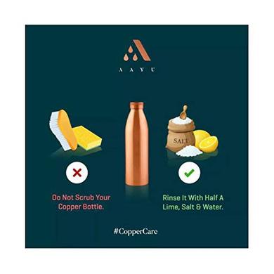 Aayu Copper Bottle (1000 ML)-1