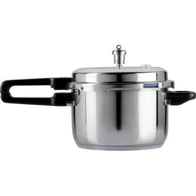 Vinod 18/8 Stainless Steel Pressure Cooker -7 Ltr (Induction Friendly)-5117