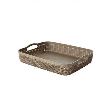 Curver Knit Polypropylene Tray, 4.5 litres-31873