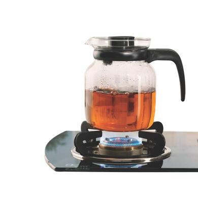 Borosil Carafe Flame Proof Glass Kettle-1litre-1