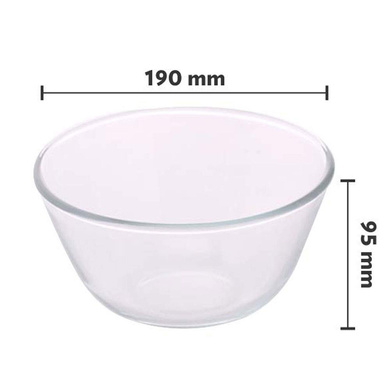 Borosil Mixing Bowl-1.3ltr-2