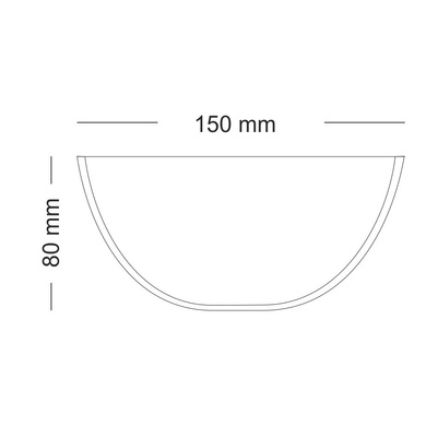 Borosil Mixing Bowl-500ml-1