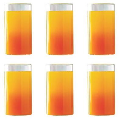 Borosil Vision Large Glass, 350ml, Set of 6-2