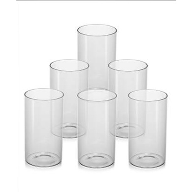 Borosil Vision Large Glass, 350ml, Set of 6-1