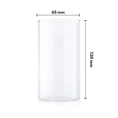 Borosil Vision Large Glass, 350ml, Set of 6-3