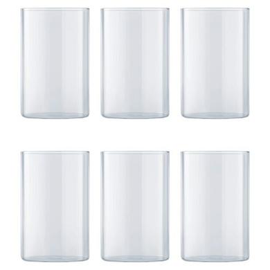 Borosil Vision Medium Glass, 295ml, Set of 6-2