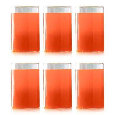 Borosil Vision Medium Glass, 295ml, Set of 6-1