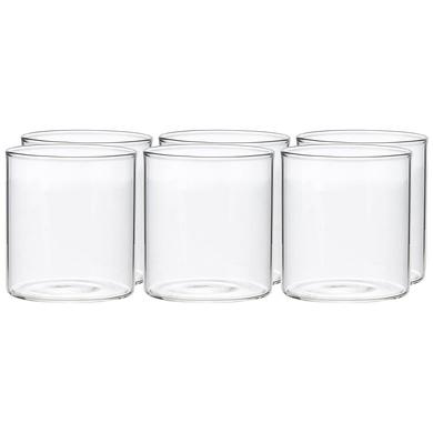 Borosil Vision Small Squat Glass, 205 ml, Set of 6-2