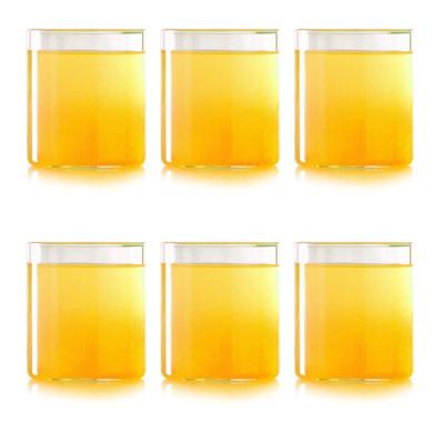 Borosil Vision Small Squat Glass, 205 ml, Set of 6-1