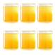Borosil Vision Small Squat Glass, 205 ml, Set of 6-1-sm