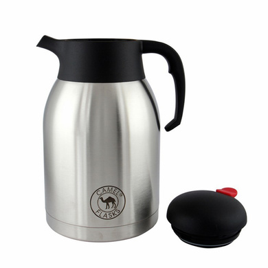 Camel Stainless Steel Vacuum Flask New Coffee / Tea Pot 2ltr (CP-200)-2ltr-1