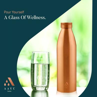 Aayu Copper Bottle (1000 ML)-3
