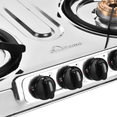 Sunflame Cooktop Spectra Delux 4 Burner Stainless Steel Gas Stove-1