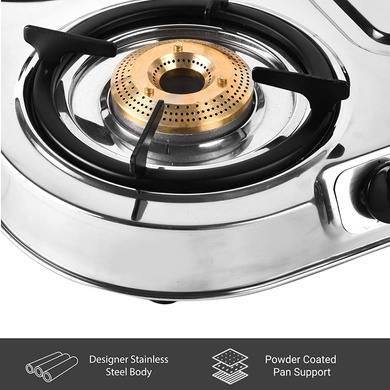 Sunflame Cooktop Spectra Delux 4 Burner Stainless Steel Gas Stove-5
