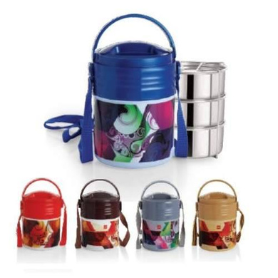 Cello Meal Kit Insulated Lunch Carrier-Meal Kit 3-1