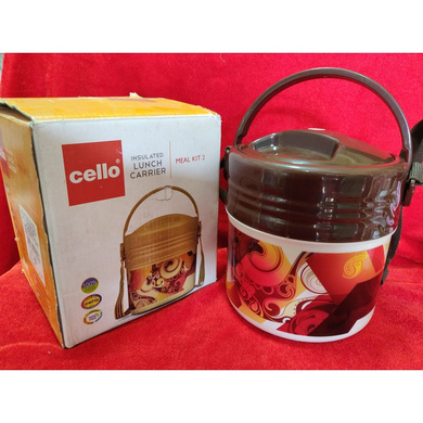 Cello Meal Kit Insulated Lunch Carrier-Meal Kit 2-1