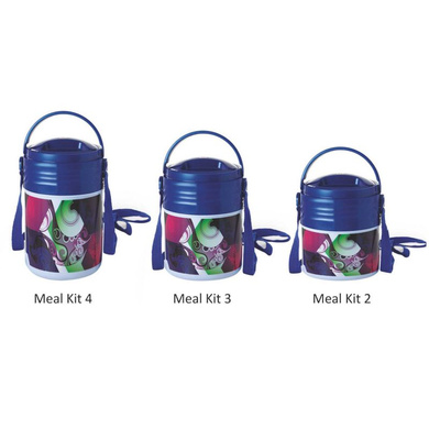 Cello Meal Kit Insulated Lunch Carrier-Meal Kit 2-3