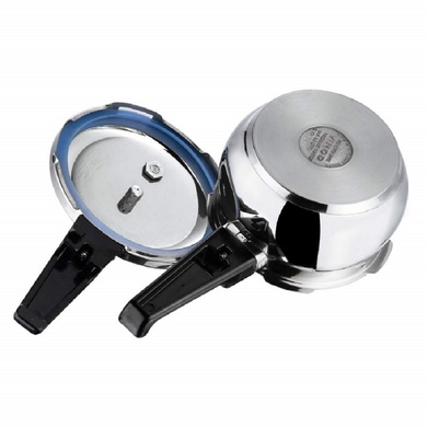 Vinod 18/8 Stainless Steel Splendid Plus Pressure Cooker (Induction Friendly)-5.5ltr-3